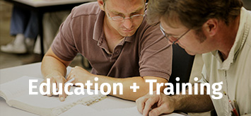 Education + Training